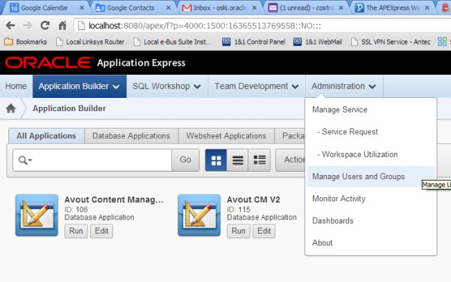 Using Groups in Application Express | Avout